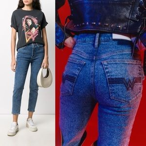 RE/DONE x WW84 Ankle Crop Jeans